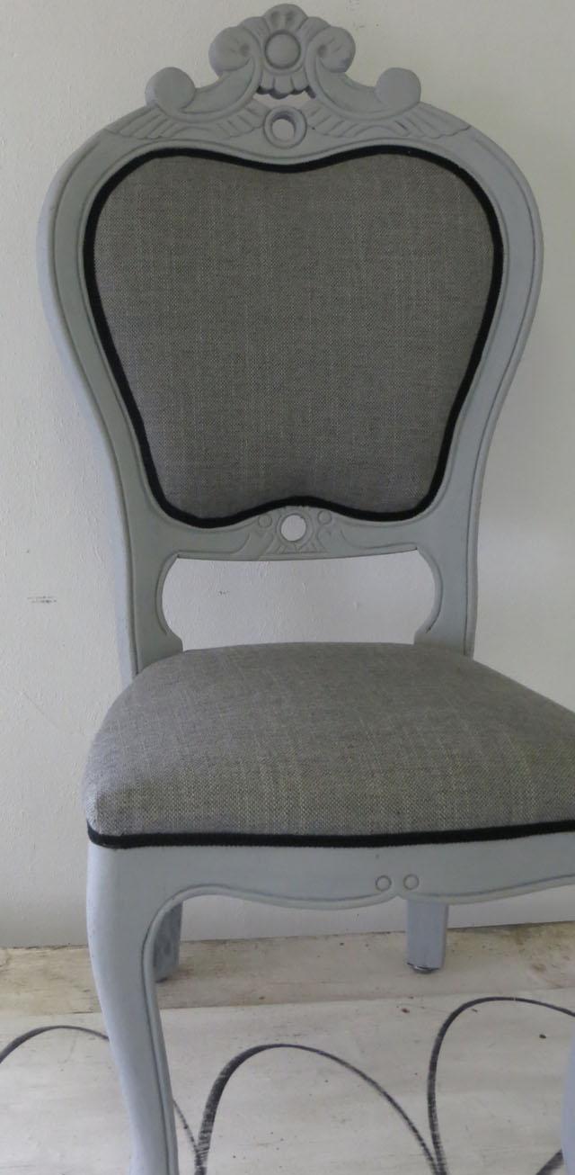zelf een stoel bekleden