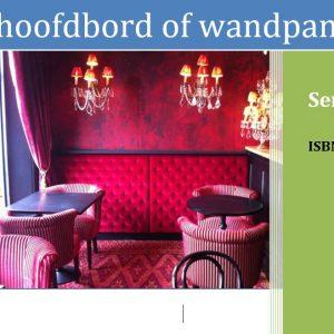 E-book een hoofdbord of wandpaneel maken
