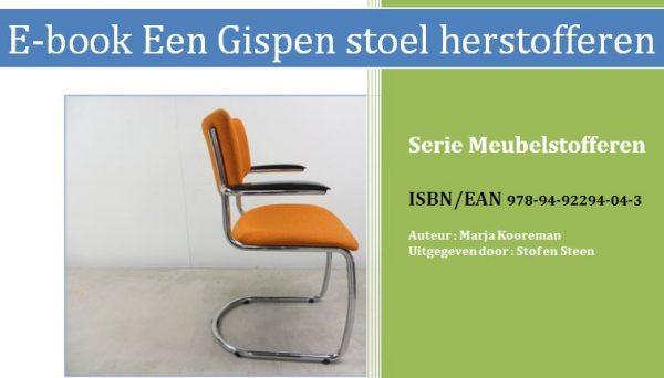E-book Een Gispen stoel herstofferen