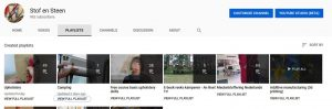 Overizht youtube kanaal stof en steen